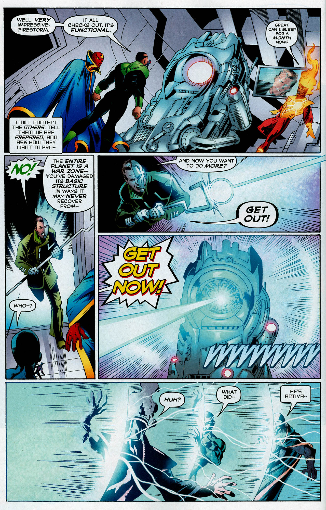 Read online Trinity (2008) comic -  Issue #14 - 11