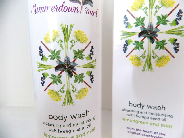Summerdown Mint Body Wash | Lemongrass and Mint