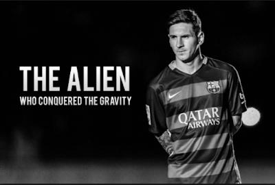Messi Adalah Makhluk Luar Angkas