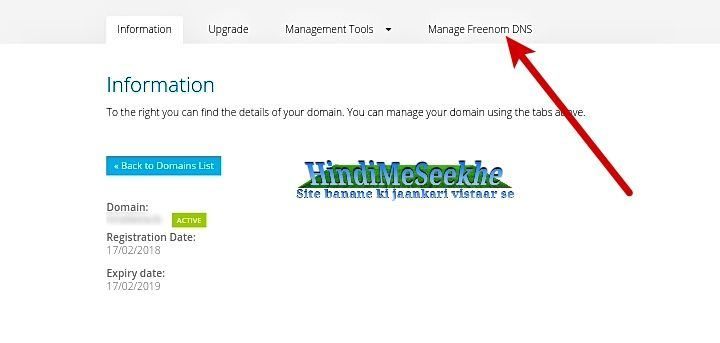 manage-freenom-DNS