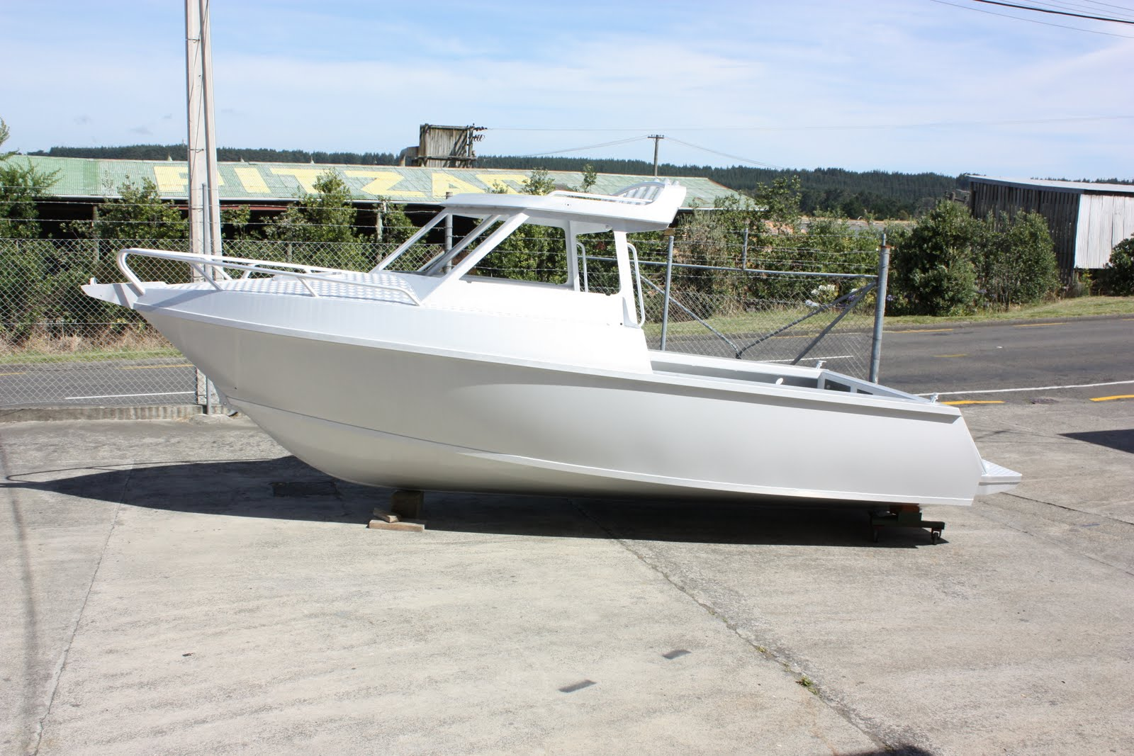 AMF Boats - Alloy Boat Builders: AMF Boats First Time at