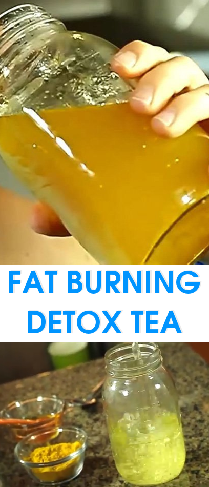 Fat Burning Detox Tea