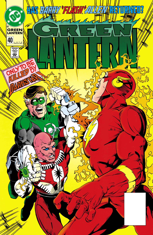Green Lantern (1990) 40 Page 1