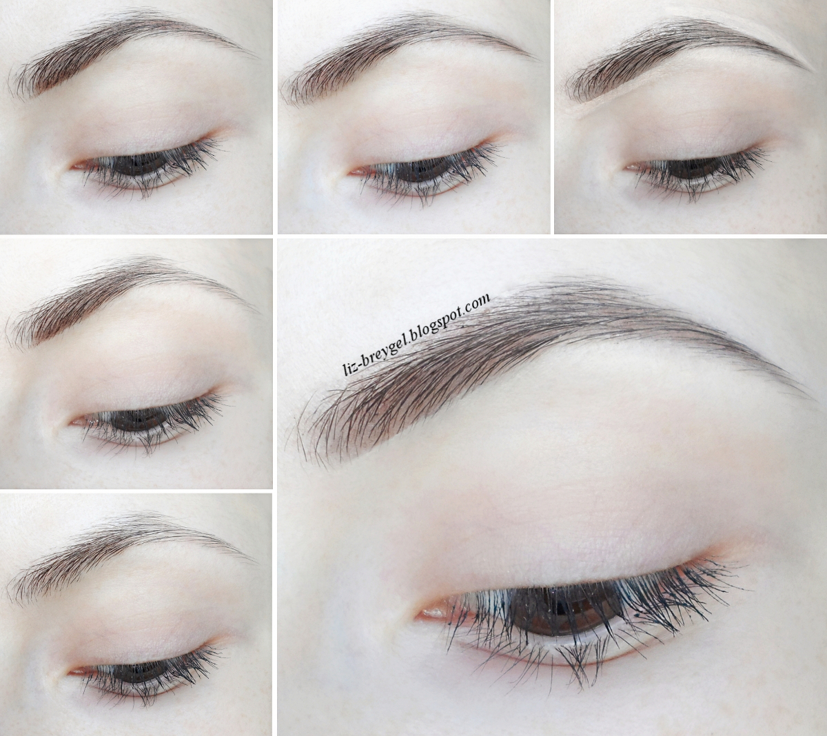 how to fill in your eyebrows step by step tutorial