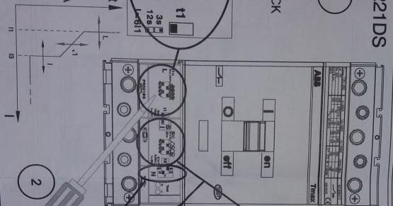 ELECTRICAL USER MANUAL: Tmax breaker setting MCCB example
