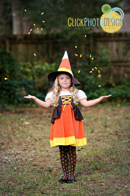 Candy Corn Witch - Photo by Click Photo Designs by Sarah Brewer  sc 1 st  Belly Feathers & Halloween Costumes That Are Just Too Cute | Belly Feathers ...