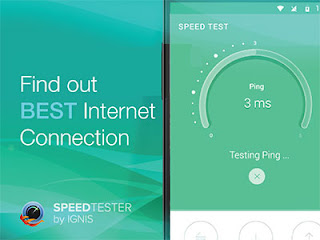 Free Download Speed Test 1.1.3 Wi-Fi / Mobile For Android
