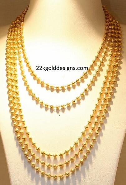 Layered Gold Balls Haram