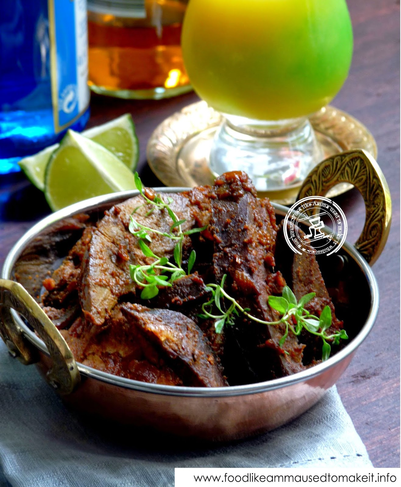 spicy liver recipe