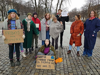 Fridays For Future, Oslo.