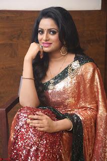 Udaya Bhanu lookssizzling in a Saree Choli at Gautam Nanda music launchi ~ Exclusive Celebrities Galleries 005.JPG