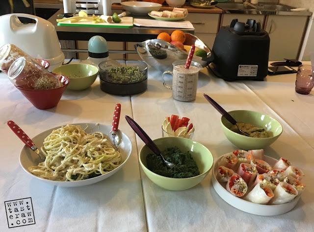 taste raw, probajte presno, radionica, workshop