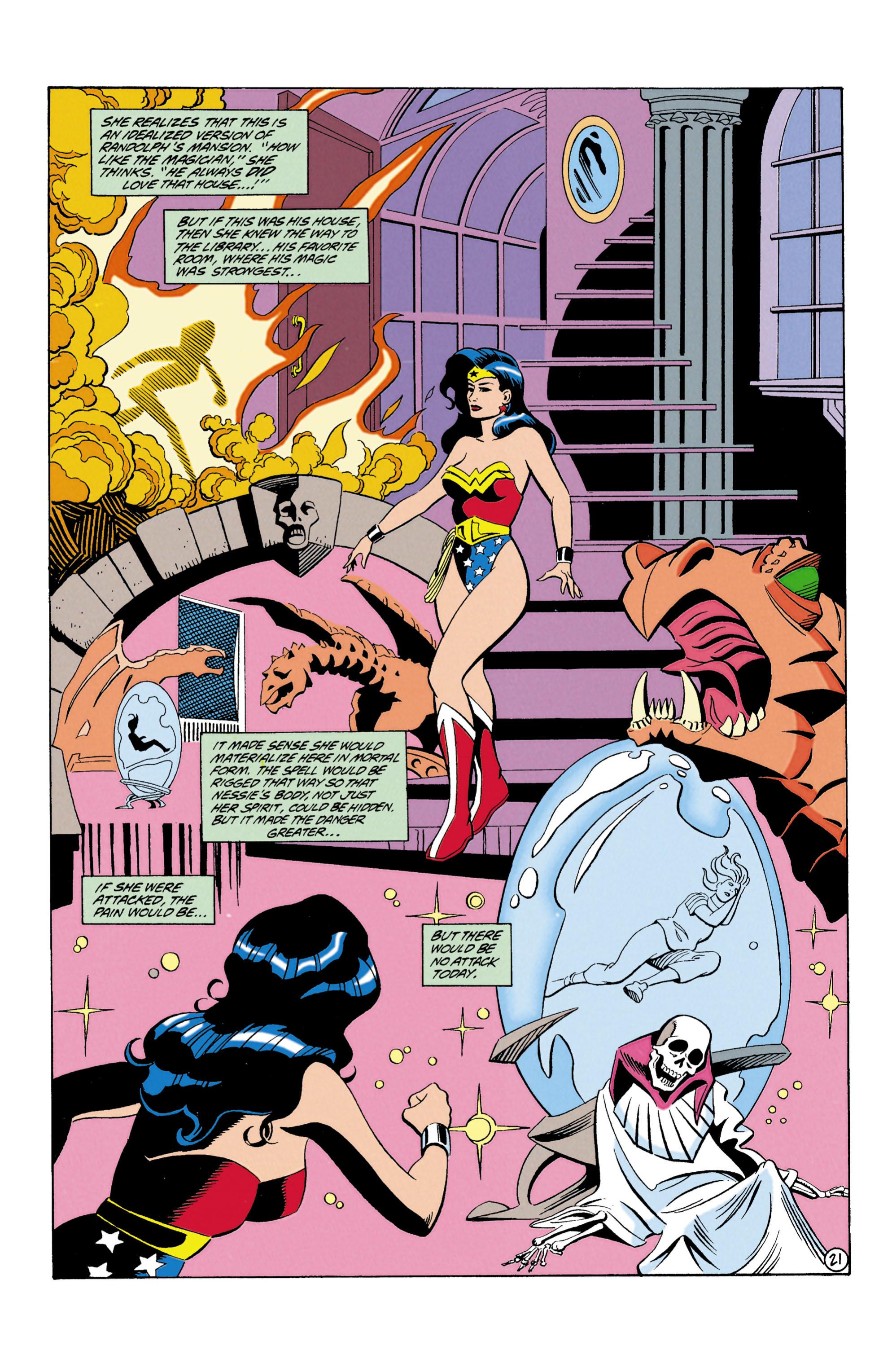 Read online Wonder Woman (1987) comic -  Issue #87 - 22