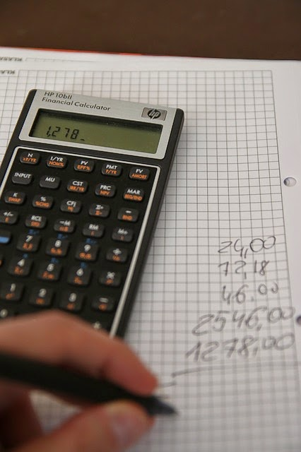 Spisywanie wydatków