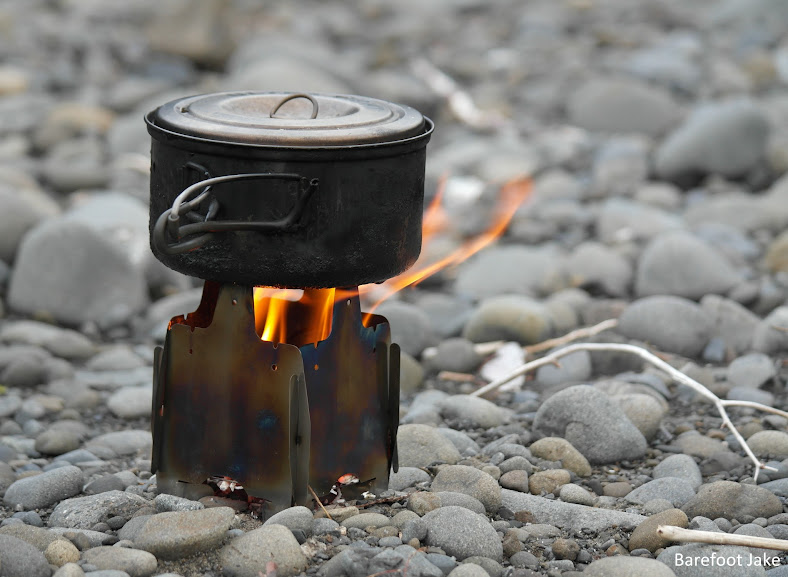 FireFly Ultralight Titanium Wood Stove