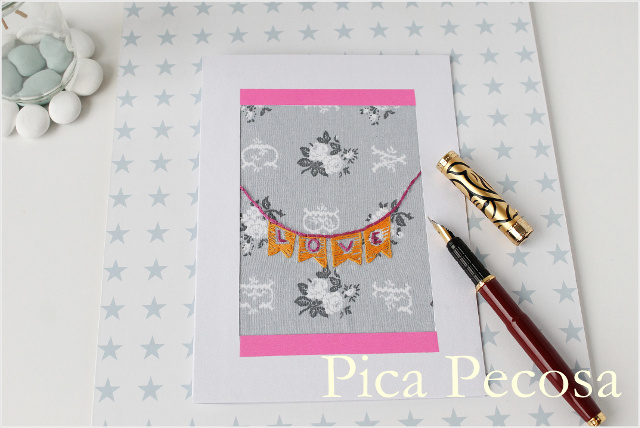 tarjeta-san-valentin-diy-papel-washi-tape-tela-banderines-bordados