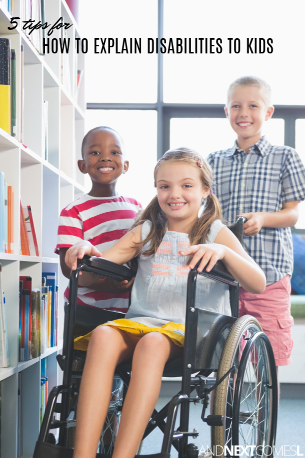 5 ways for how to explain disability to a child