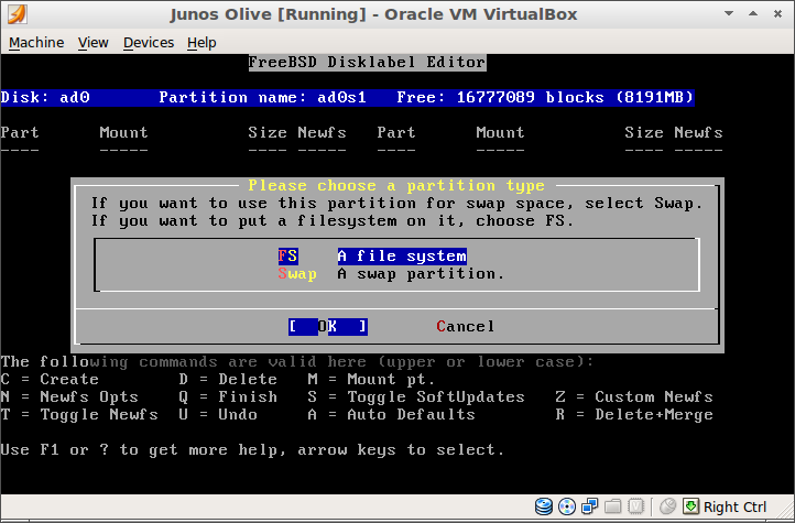 Sam Russell Central: Creating an Olive with JunOS 12 1 on VirtualBox