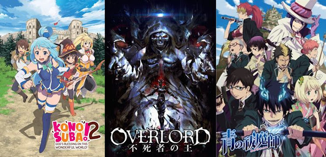 rekomendasi anime fantasy terbaik sepanjang masa comedy action