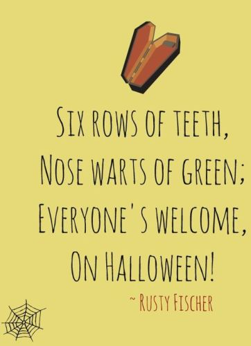 cute halloween sayings for treat bags cards invitations for teachers boyfriends 2016