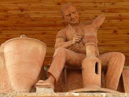 kerajinan patung tembaga