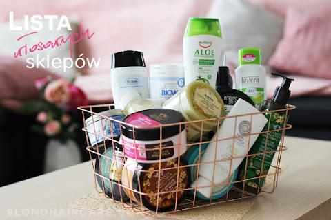 Spis sklepów stacjonarnych z kosmetykami do włosów - czytaj dalej »