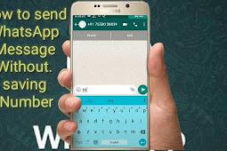 Cara Kirim Pesan Whatsapp Tanpa Simpan Kontak