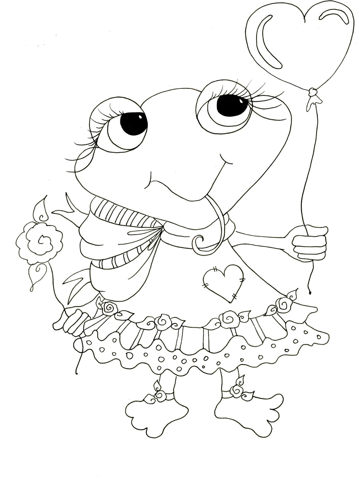 sherri baldy coloring pages - besties challenge reached 500 freebies and new
