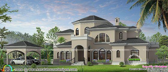 325 square meter luxury home