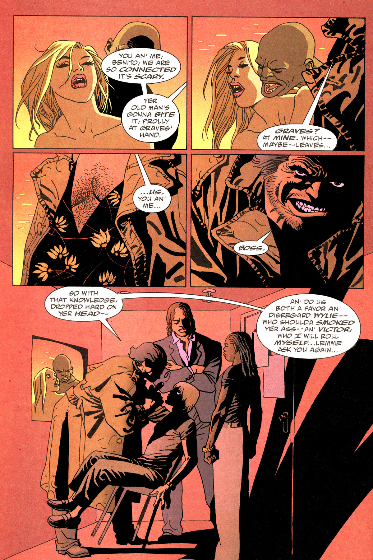 Read online 100 Bullets comic -  Issue #80 - 19