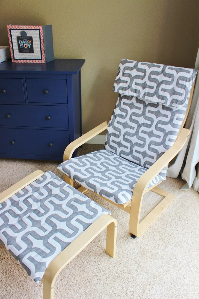 IKEA Poang Chair hack with Slipcover