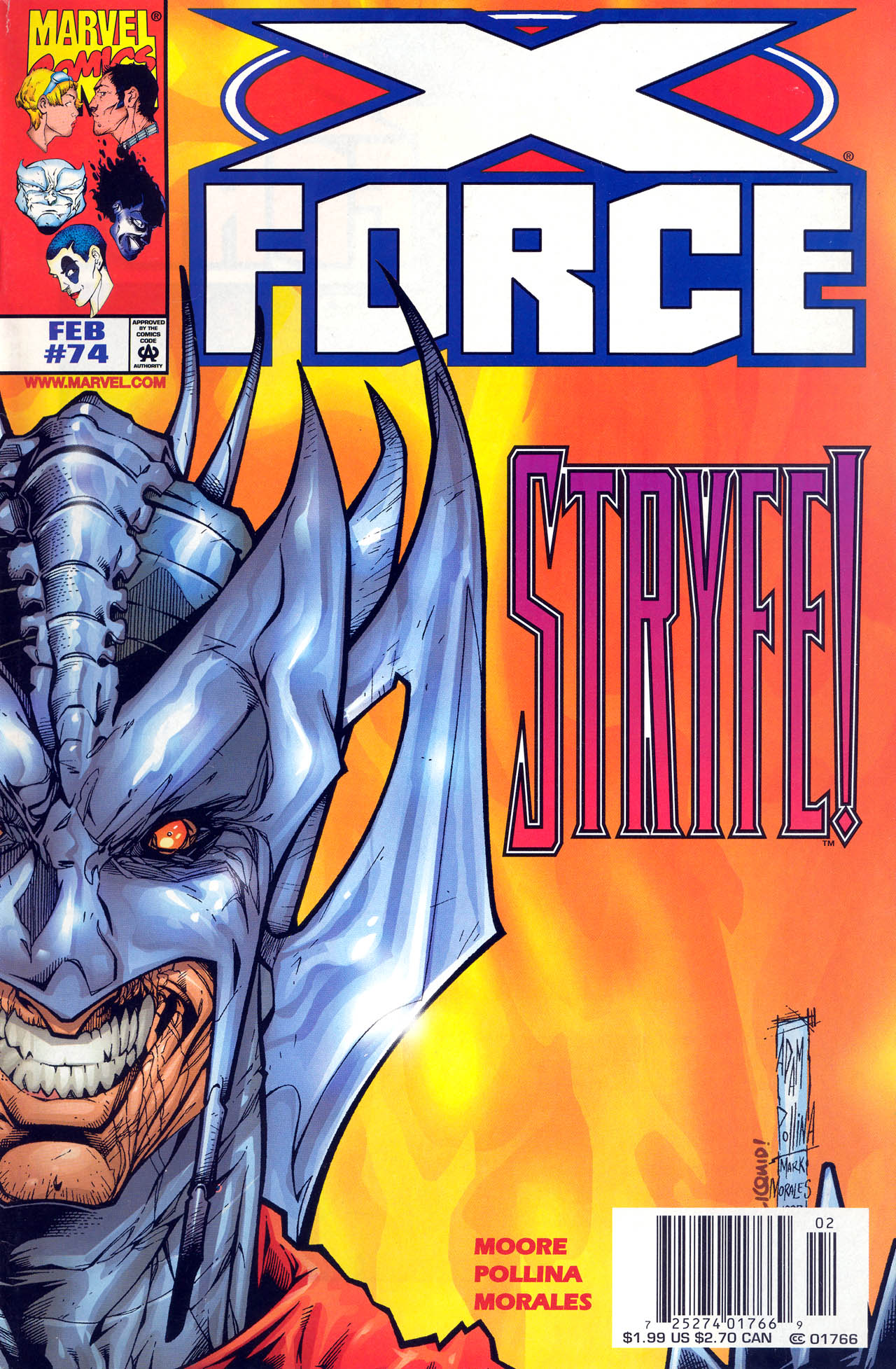 X-Force (1991) 74 Page 1