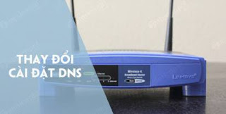change-router-dns