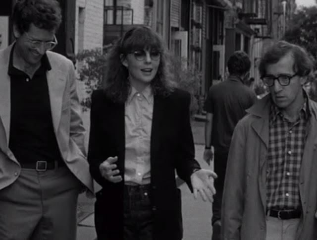 Michael Murphy, Diane Keaton et Woody Allen dans Manhattan (1979)
