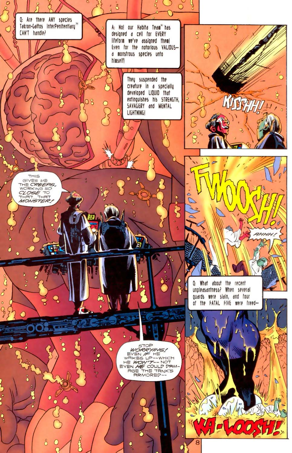 Legion of Super-Heroes (1989) 120 Page 8