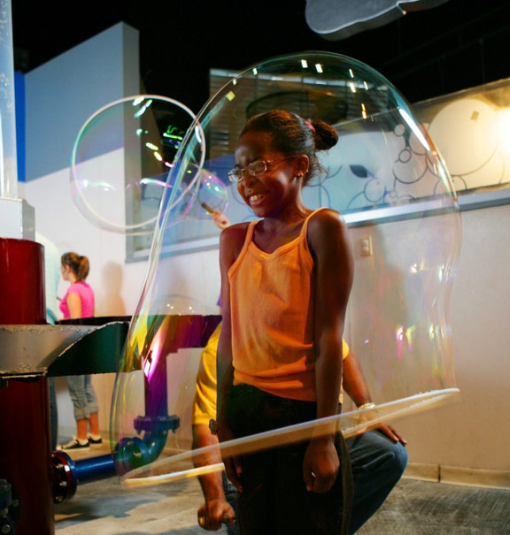 WonderWorks Orlando - Bubble Lab Bolhas