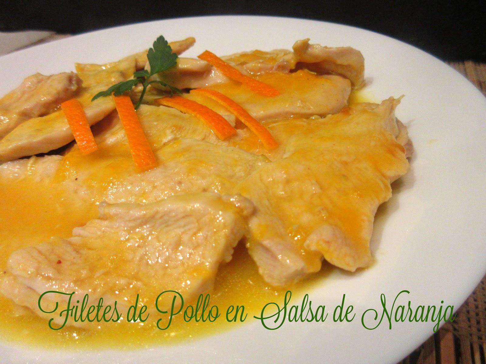 arroz blanco con pollo en salsa