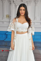 Telugu Actress Amyra Dastur Stills in White Skirt and Blouse at Anandi Indira Production LLP Production no 1 Opening  0126.JPG