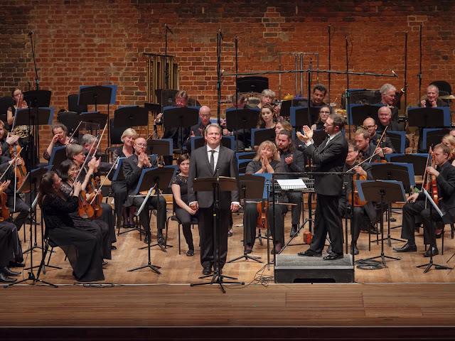 Robert Murray, John Wilson & BBC Scottish Symphony Orchestra at Snape Maltings