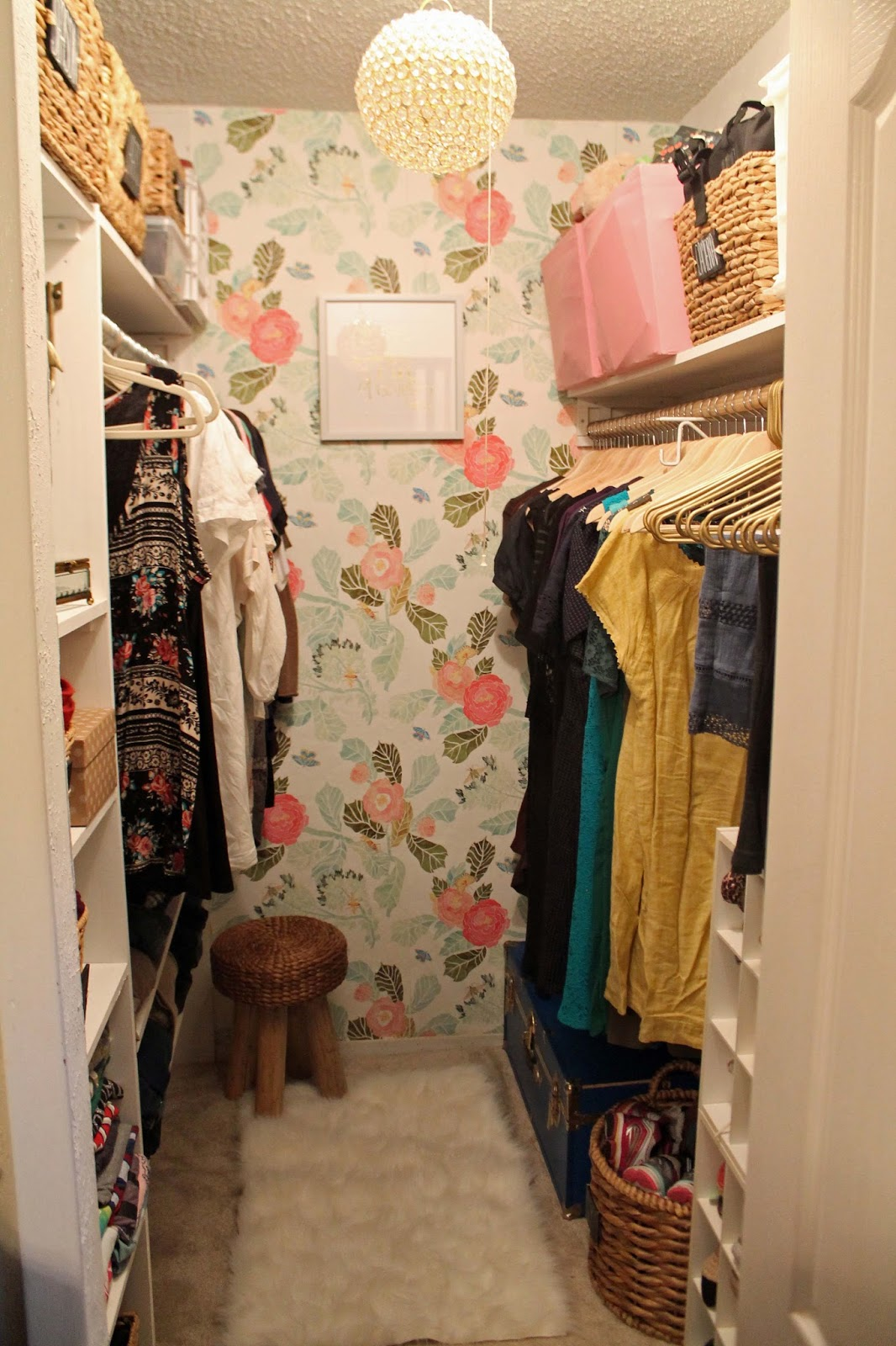 Two Summers Ago I Redid My Bedroom Here Are Those Photos Decided It Was Time To Redo Closet This Summer Had Become A Place Just Shoved Things