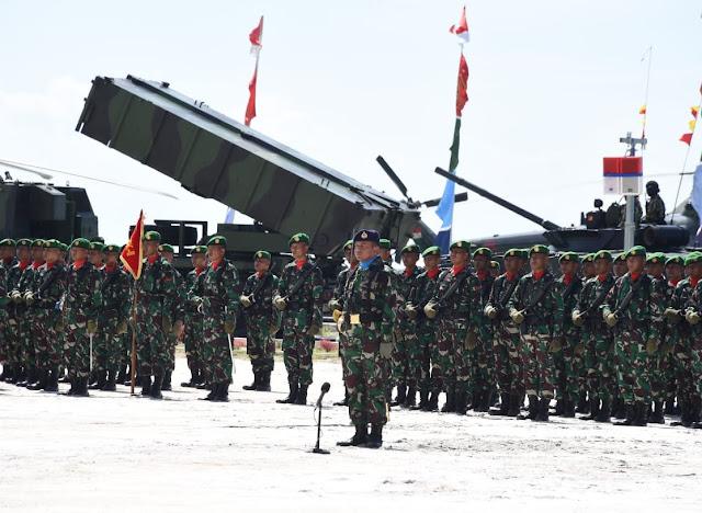 Panglima TNI Resmikan Satuan TNI Terintegrasi Natuna