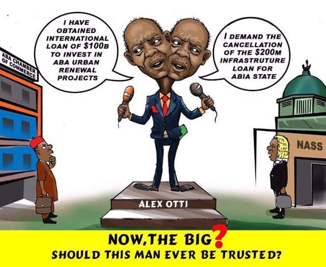 Alex Otti's mission of vengeance against Abia over electoral defeat has failed