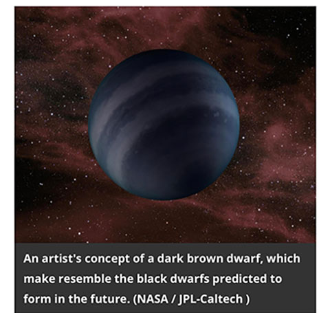 One of four types of stars that won't exist for billions of years (Source: John Wenz, Smithsonian, 1/18/19)