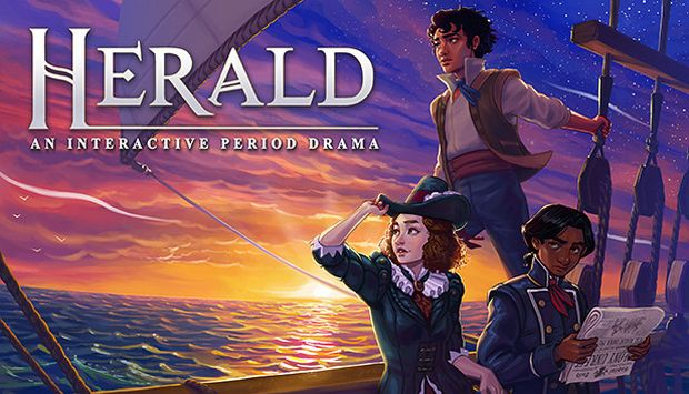 Herald An Interactive Period Drama Book 1 and 2-HI2U