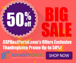 Best Cheap Recommended ASP.NET Hosting – Exclusive Thanksgiving Special Deals