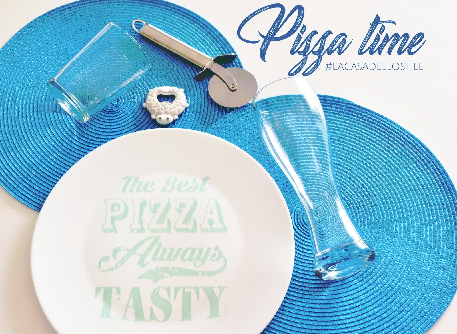 La casa dello stile: Tavola per pizza
