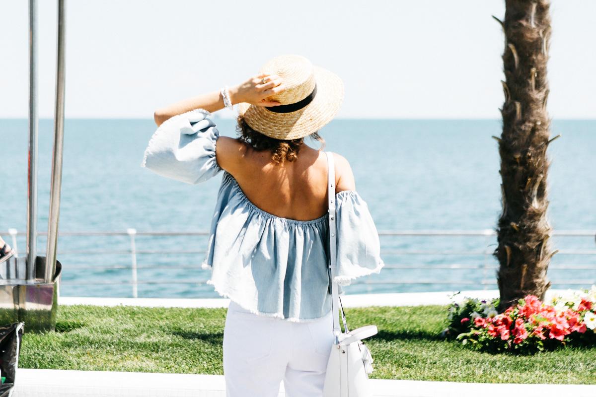 тренд открытые плечи как носить