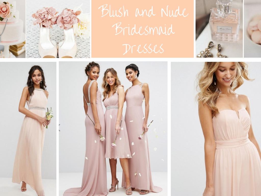 Bridesmaid dress inspiration eat travel love travel and blush and nude bridesmaid dresses ombrellifo Choice Image