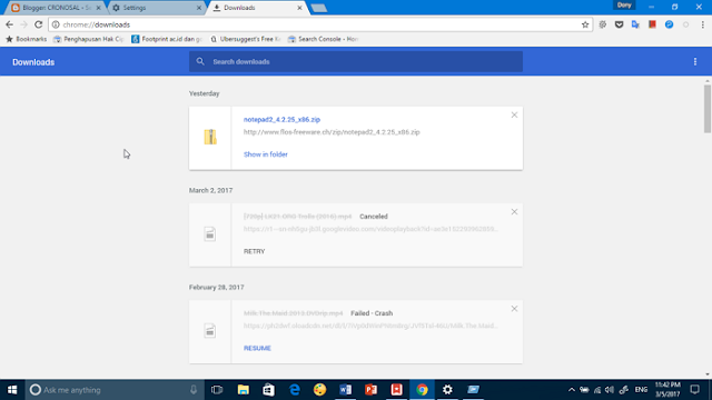 Cara Ubah Folder Download Default di Chrome