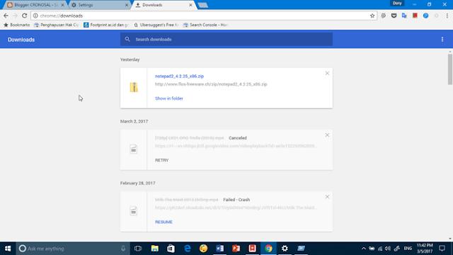 Cara Ubah Folder Download Default di Chrome